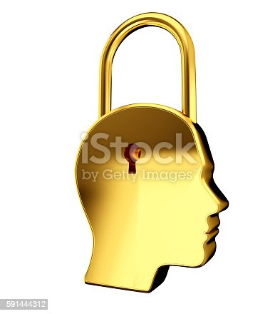 istock Key to Mind - Idea and startup concept. 591444312