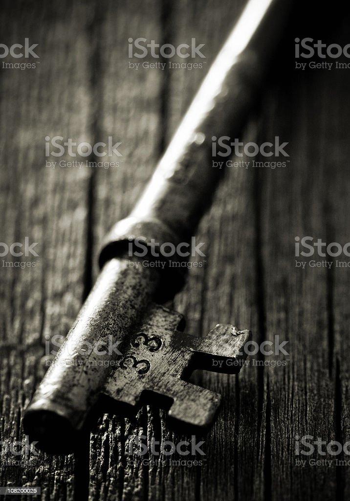 Key to Room 33 stock photo