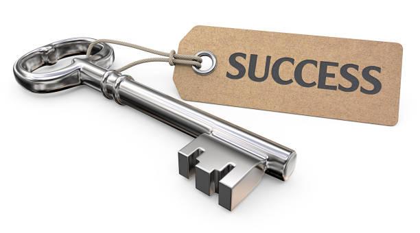 Chave para o sucesso. - foto de acervo
