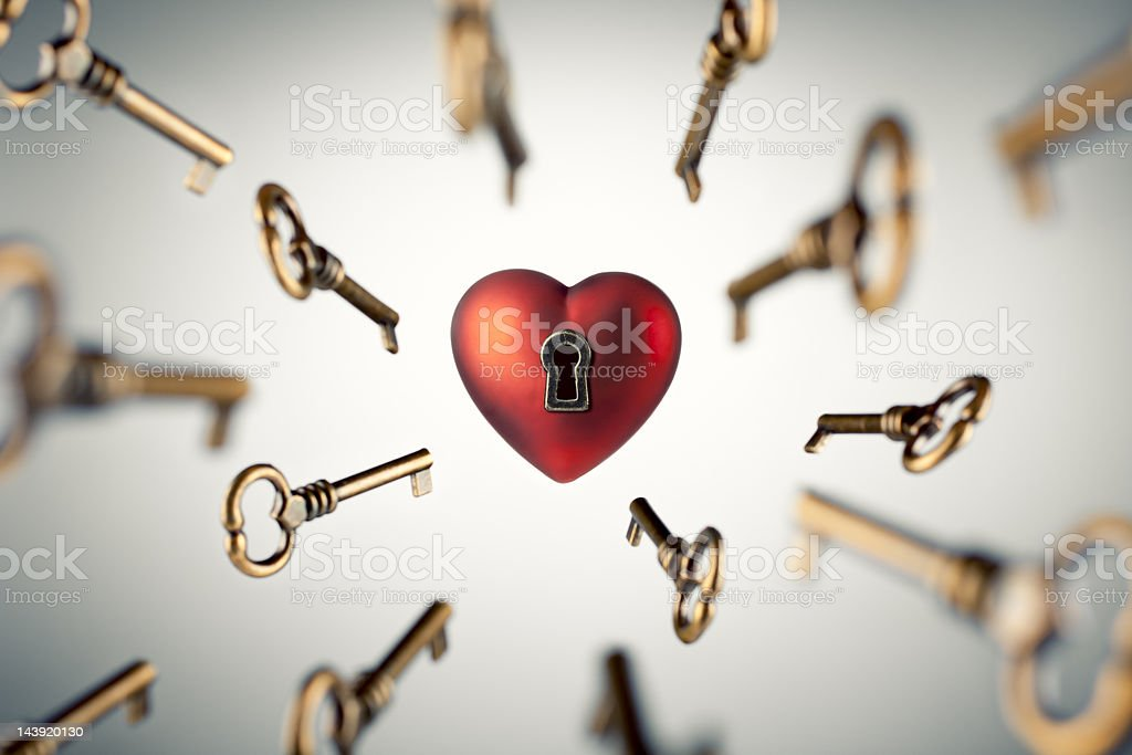 Key to your Heart stock photo