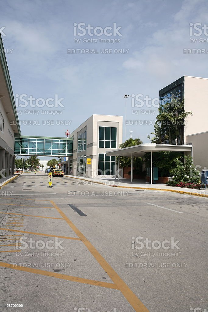 Key West International Airport royalty-free stock photo