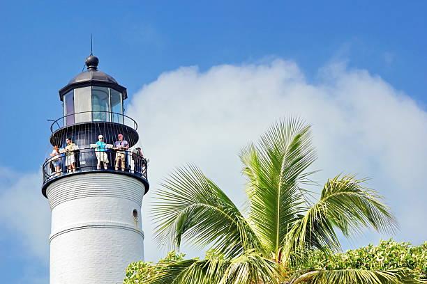 Key West Light House stock photo