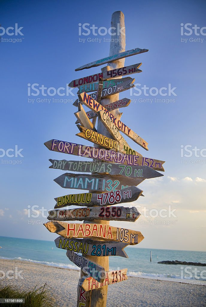 Key West stock photo