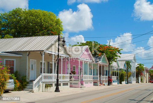 istock Key West typical architecture 654271064