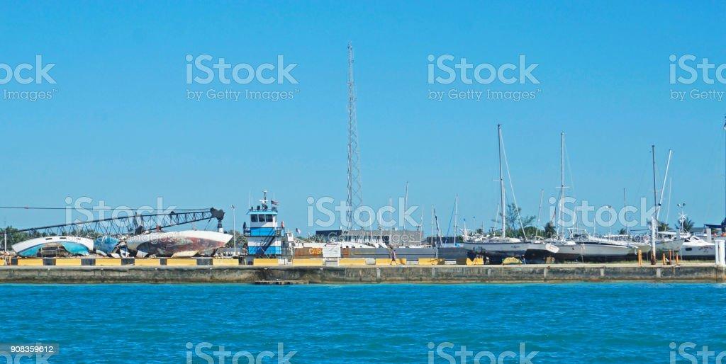 Key West Wreckage stock photo