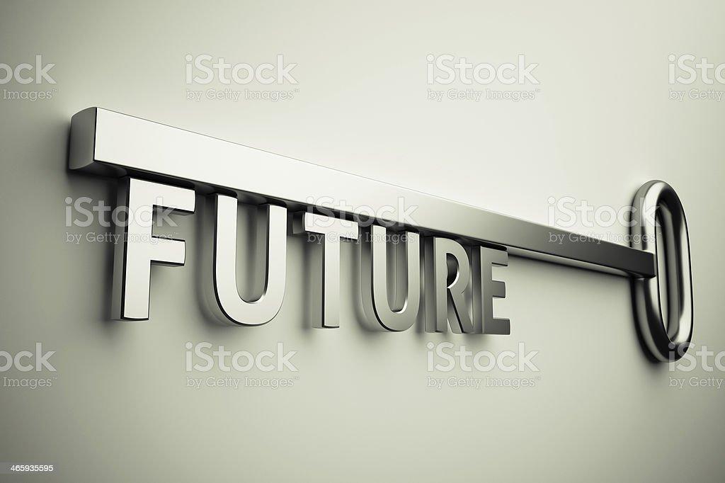 Key With Future stock photo