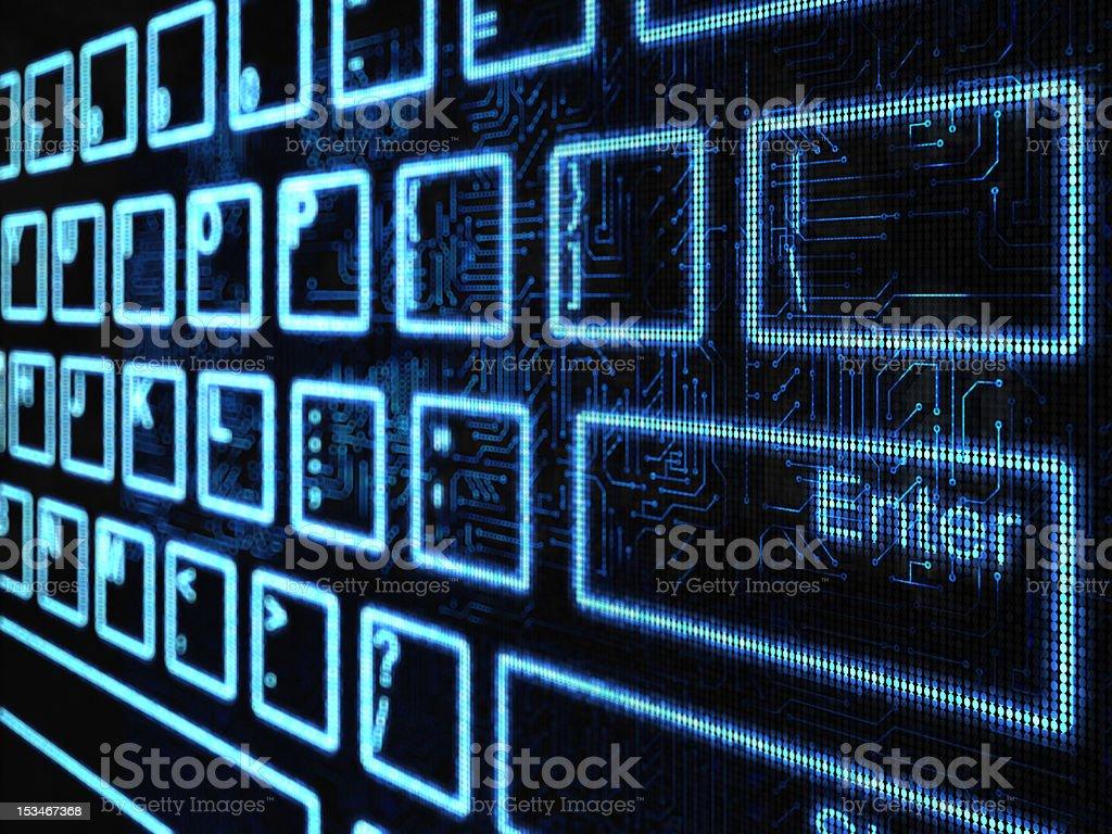 Keyboard background royalty-free stock photo