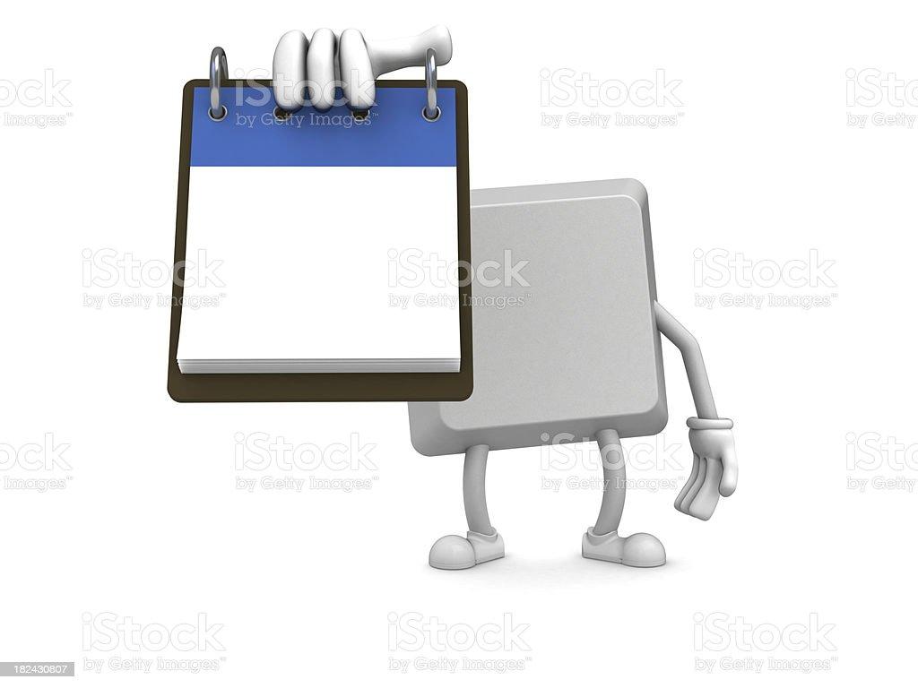 Keyboard button royalty-free stock photo
