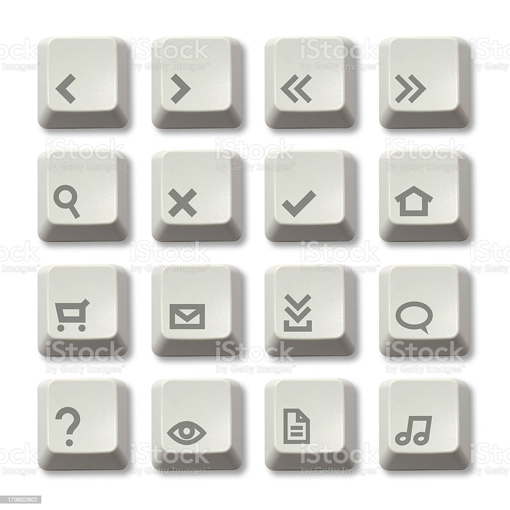 Keyboard Button - Web Theme stock photo