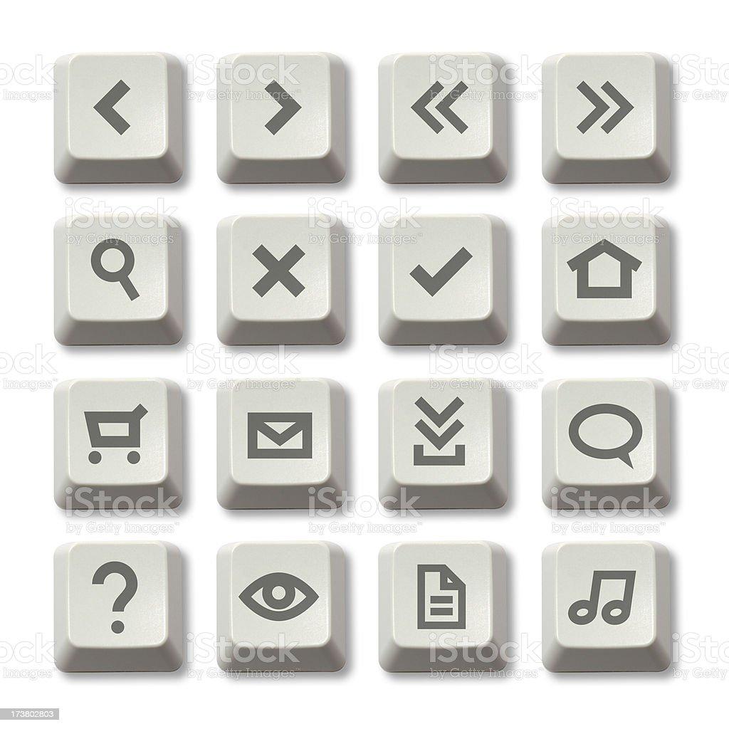 Keyboard Button - Web Theme stock photo