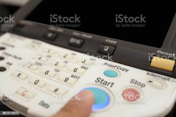 Foto de Botões Do Teclado Da Copiadora Laser e mais fotos de stock de Aparelho de fax
