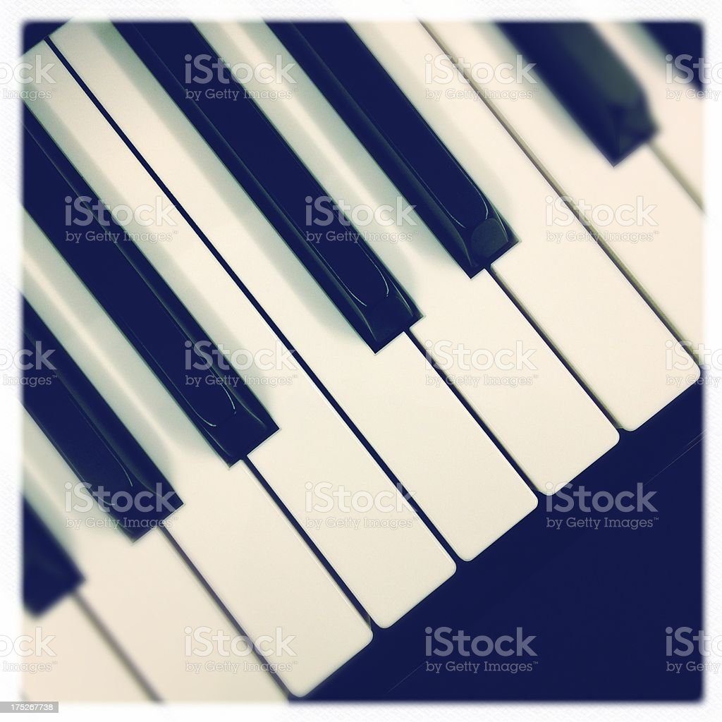 keyboard close up royalty-free stock photo