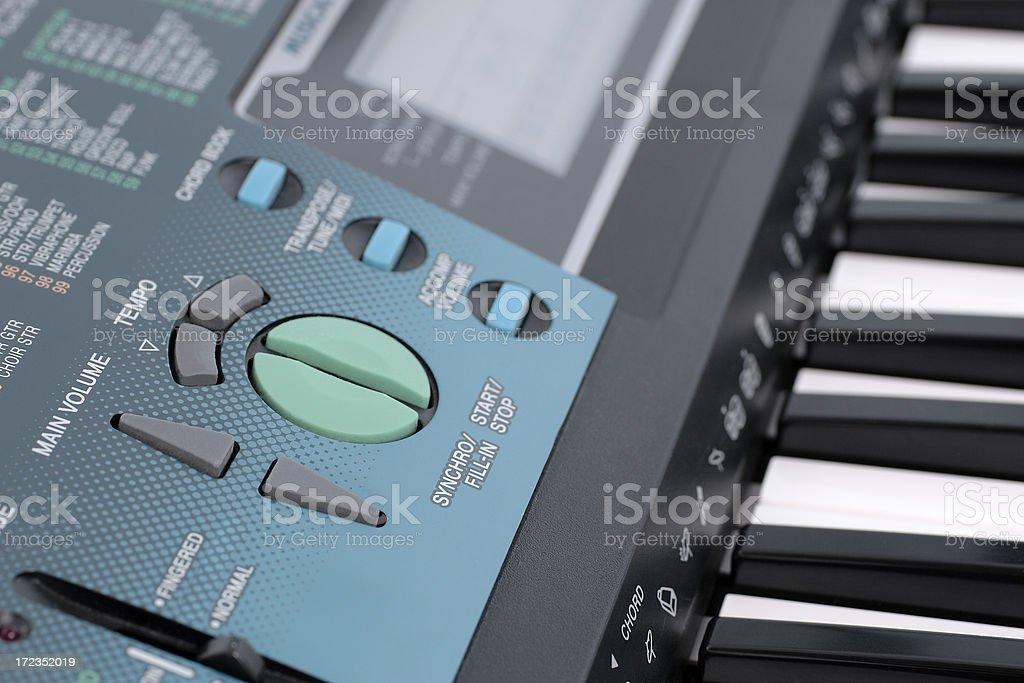 Keyboard Close-up royalty-free stock photo