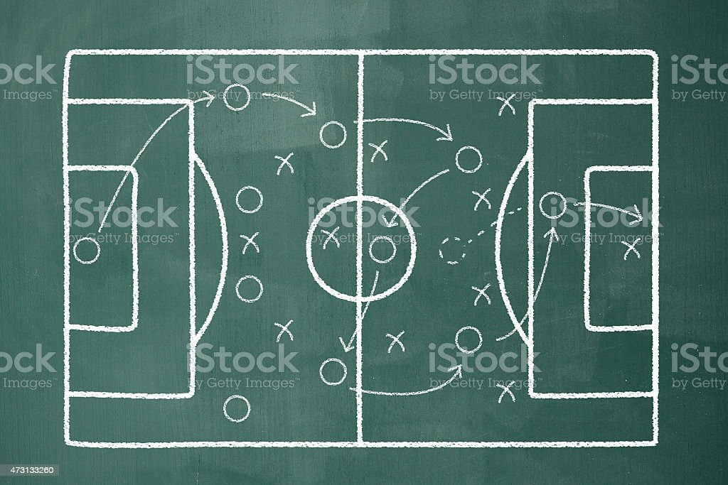 Keyboard Football Soccer Strategy Stock Photo More Pictures Of