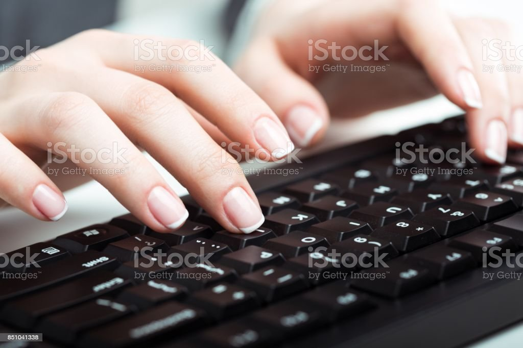 Keyboard. stock photo