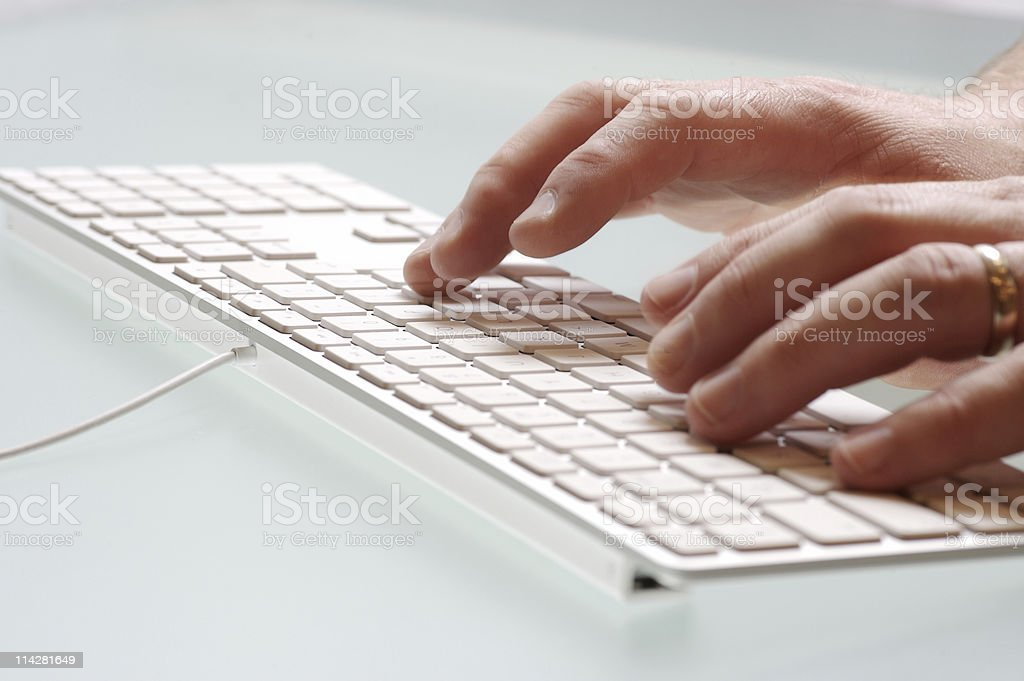 Keyboard V7... royalty-free stock photo