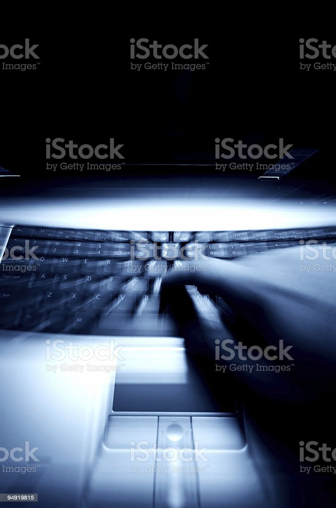 Keyboard zoom royalty-free stock photo