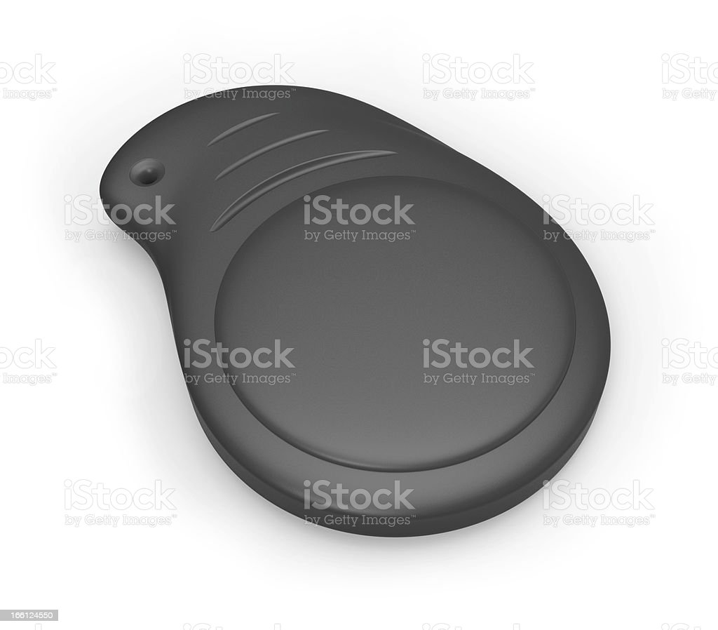 RFID keychain tag royalty-free stock photo