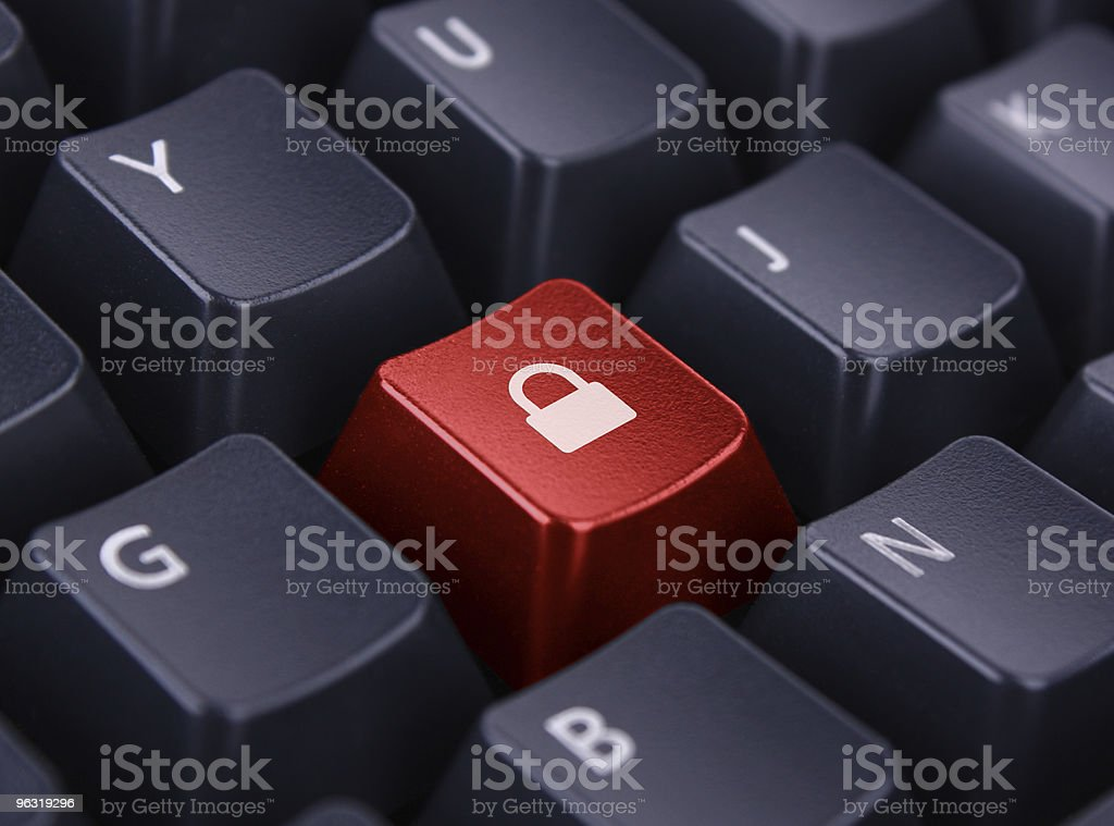 Keypad Lock royalty-free stock photo