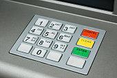 Keypad for an ATM