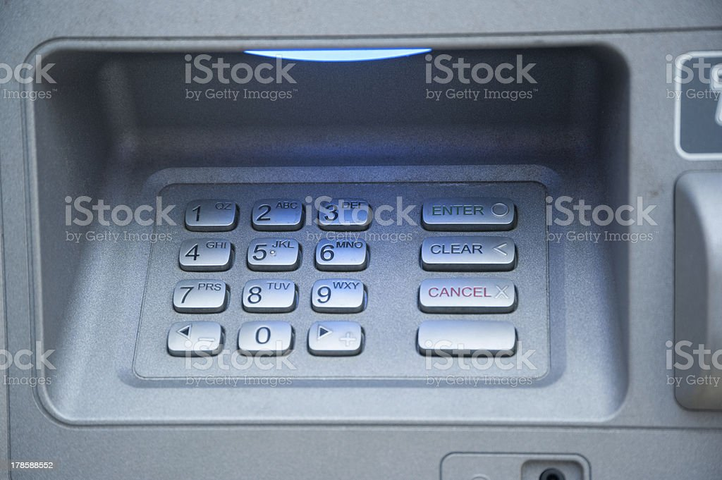 keypad royalty-free stock photo