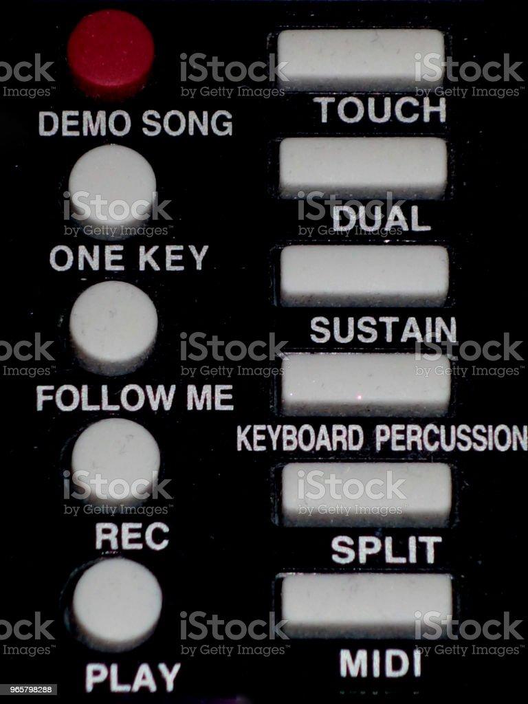 keypad-on control - Royalty-free Art Stock Photo