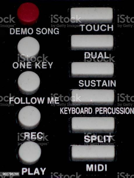 Keypadon Control Stock Photo - Download Image Now