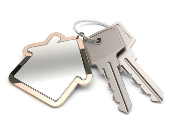 Schlüssel und Haus – Foto