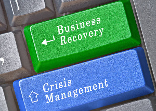 Cтоковое фото Keys for business recovery and crisis management