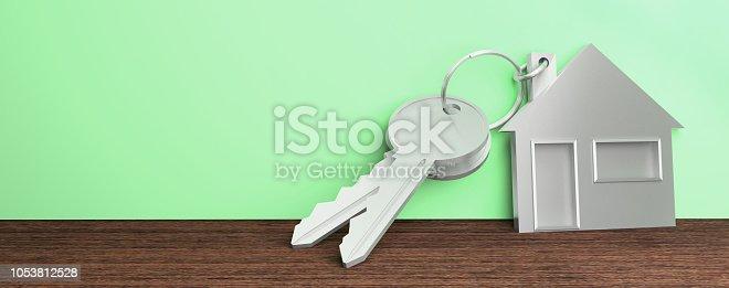 istock keys house 1053812528