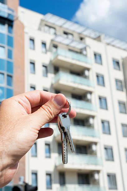 keys of new house stock photo