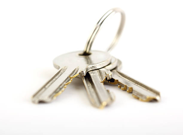 klucze - pięciolinia zdjęcia i obrazy z banku zdjęć