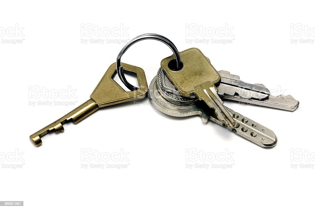 Keys royalty-free stock photo