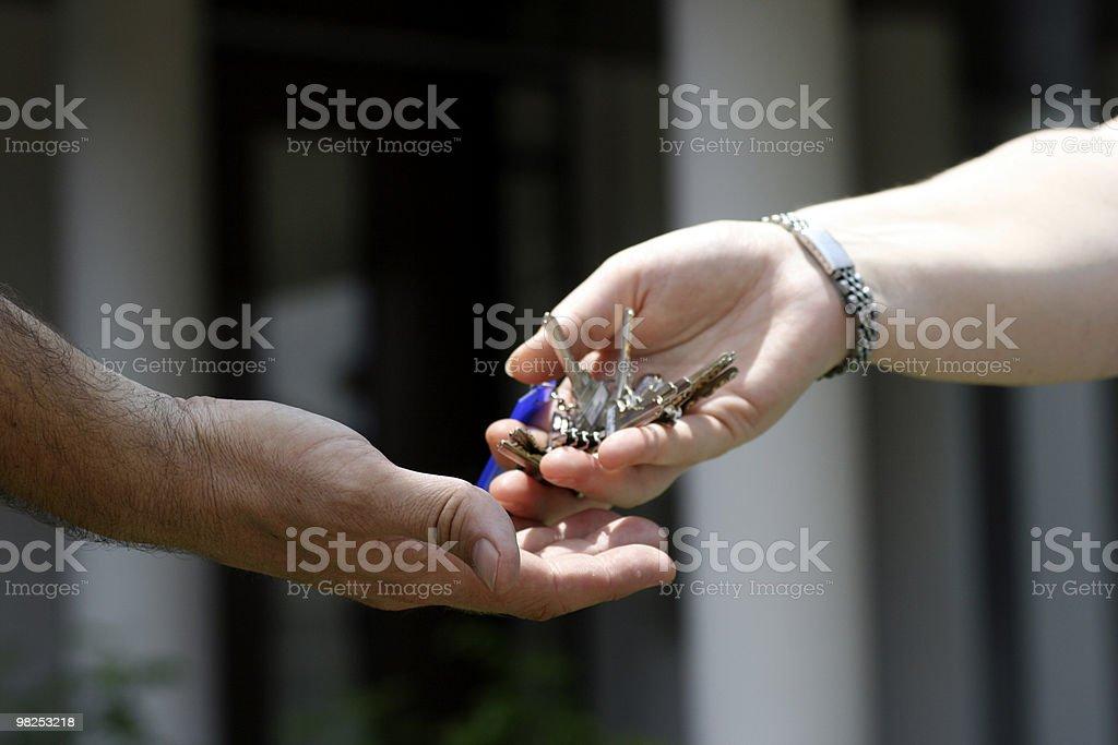 Keys royalty-free stock photo