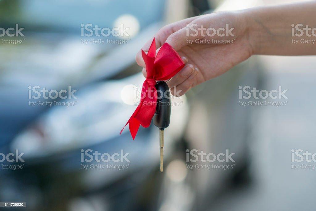 Keys With Ribbon stock photo