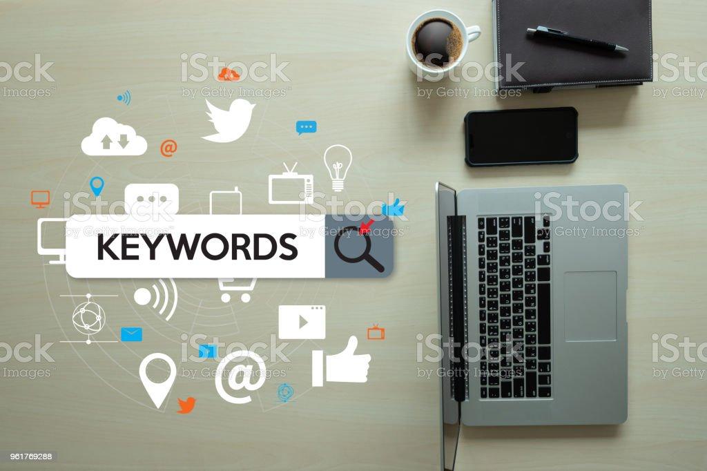 Stichwort Forschung Kommunikationsforschung, on-Page-Optimierung, seo – Foto