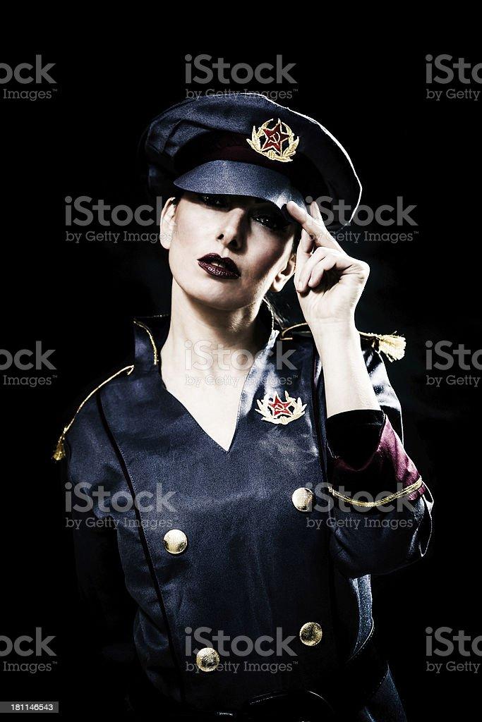 Kgb most wanted spy royalty-free stock photo