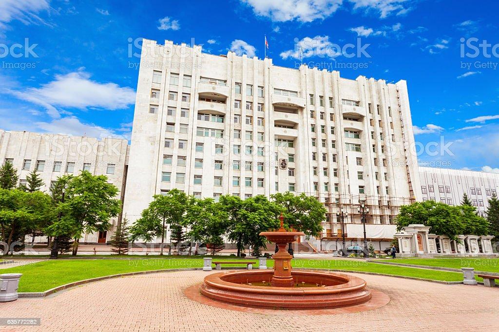 Khabarovsk krai government building – Foto