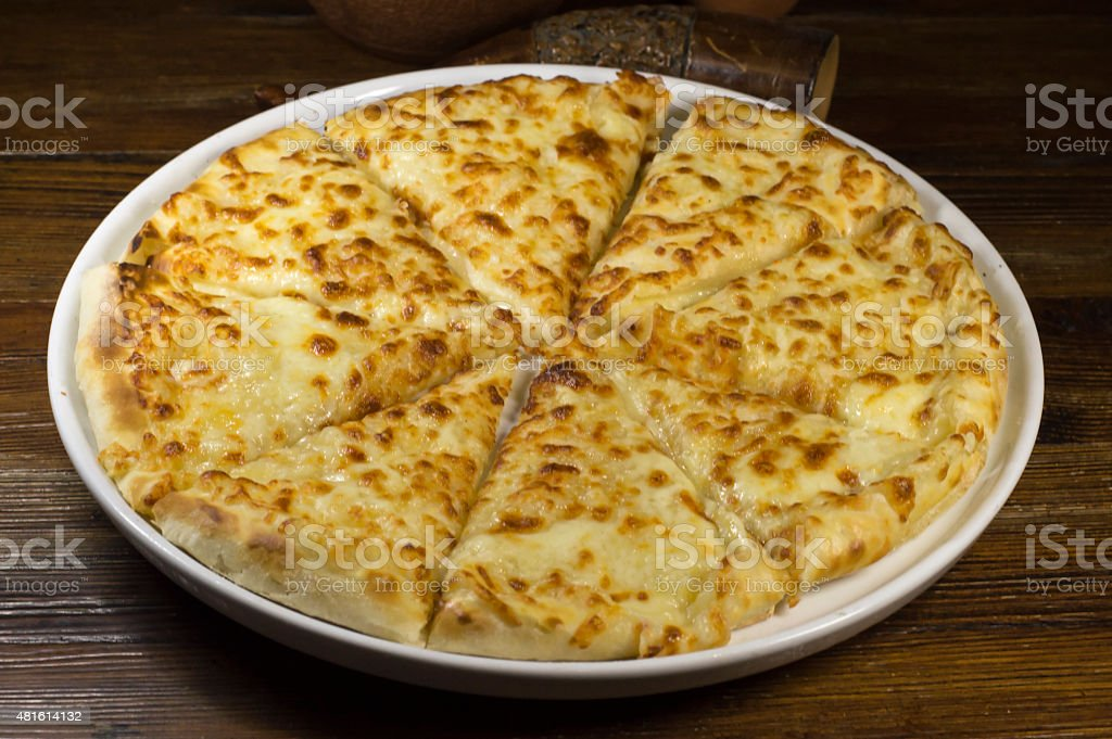 Khachapuri Megruli With Cheese Stock Photo Download Image Now Istock