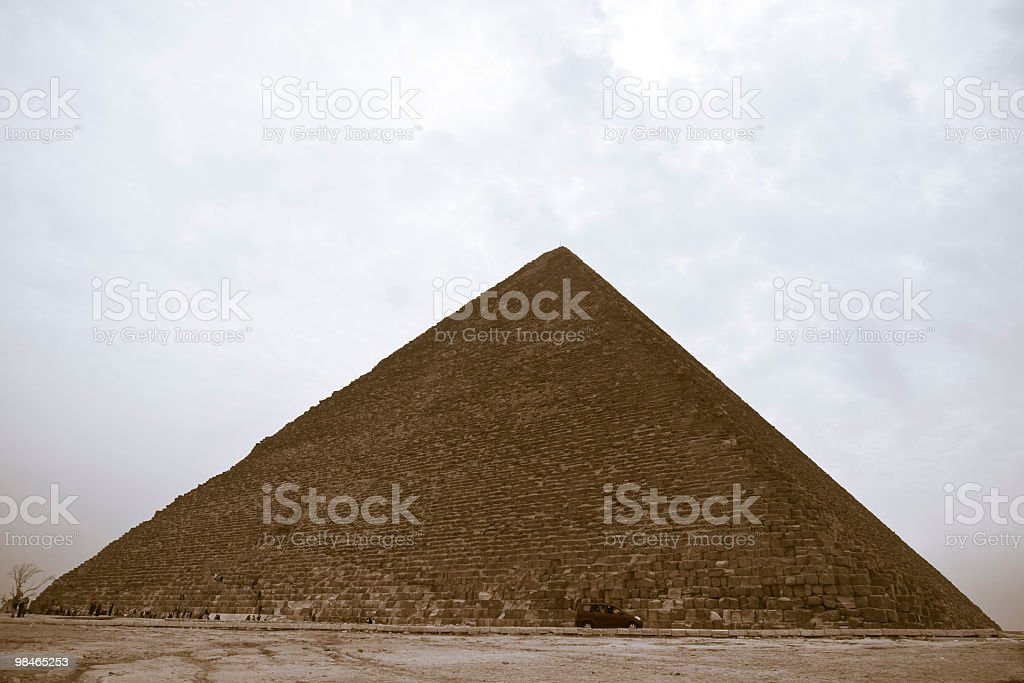 Khafre Pyramid of Giza royalty-free stock photo