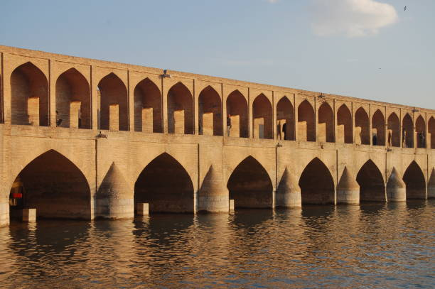 Khaju-Brücke in Isfahan, Iran – Foto