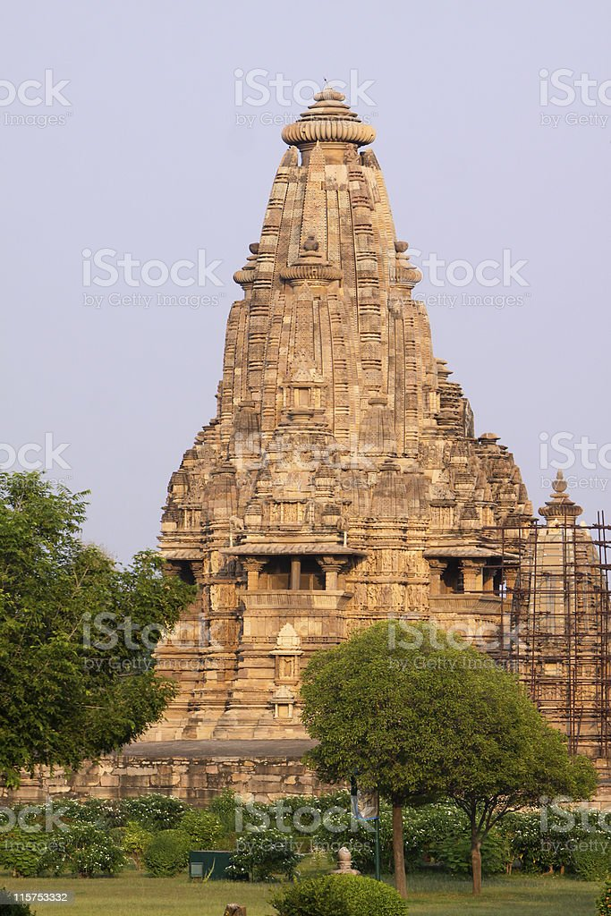 Khajuraho in Madhya Pradesh, India royalty-free stock photo