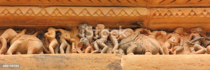 istock Khajuraho Sculptures 488159293