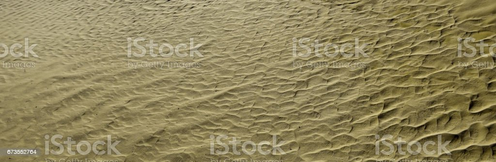 Khaki color. Natural texture and background of the desert. Sand patterns royalty-free stock photo