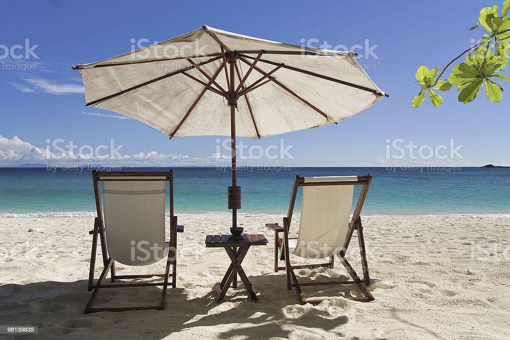 벨몬트에 해변에서 royalty-free 스톡 사진