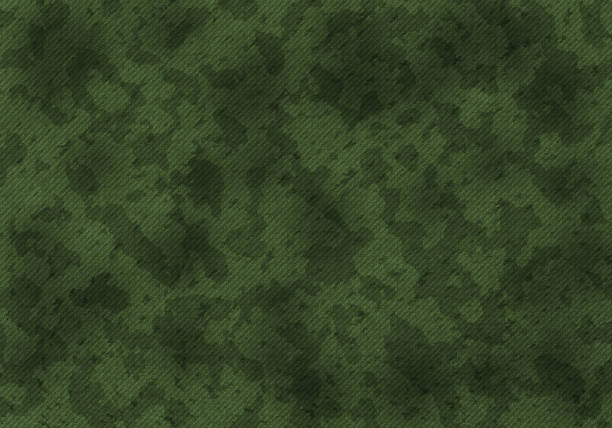 Khaki pattern A military khaki camouflage pattern. Art illustration camouflage stock pictures, royalty-free photos & images
