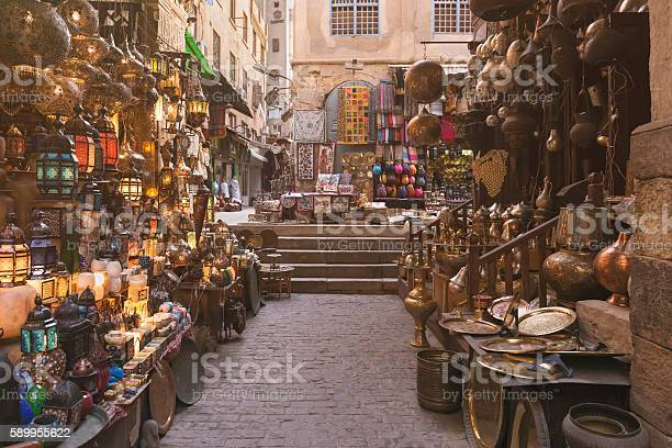 Khan Alkhalili Bazaar Stock Photo - Download Image Now