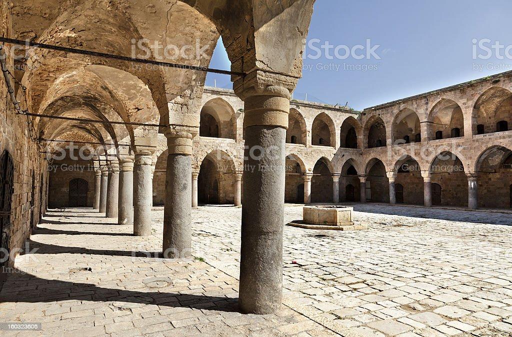 Khan al-Umdan - Acco stock photo