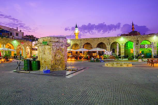 Khan a-Shawarda, Acre stock photo