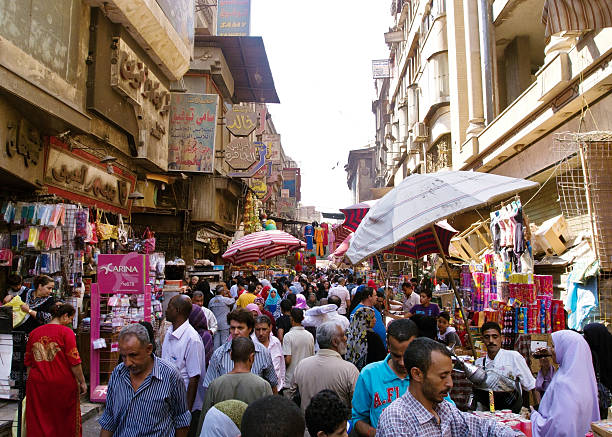 Khan El Khalili-Basar in Kairo – Foto
